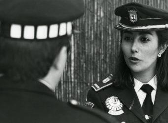 Imagen de Teresa Gil, subinspectora en 1990