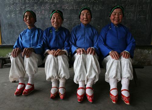 mujeres de un grupo de baile