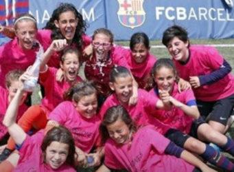 Imagen del Barça femenino