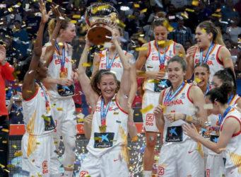 Imagen de las ganadoras del Eurobasket 2019