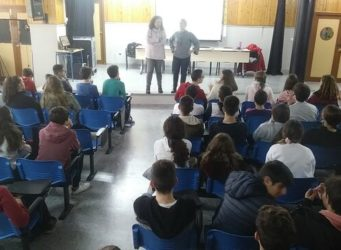 Imagen de la clase durante el taller