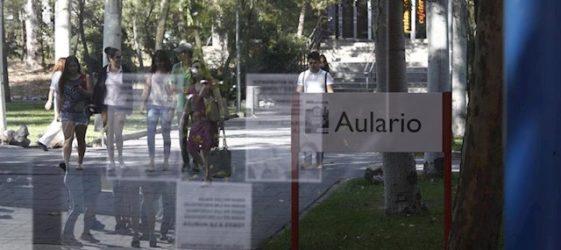 Estudiantes de la Universidad Rey Juan Carlos de Madrid