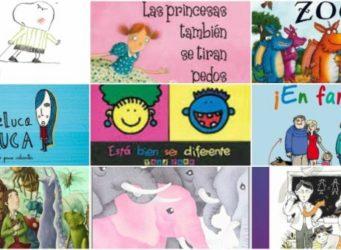 collage de varios cuentos infantiles