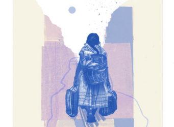 Ilustración de una joven indígena de Amanda Martínez