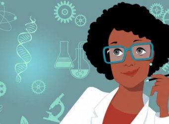 imagen de una científica