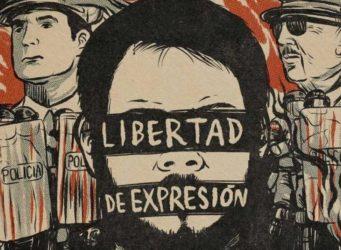 Mural en apoyo a Pablo Hasél