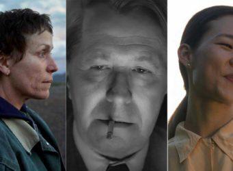 tres de los nominados a mejor actor