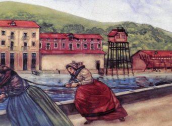 pintura que representa a las sirgueras