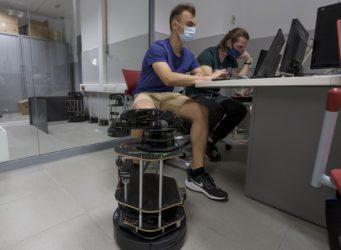 Una clase de la Universidad de Alicante